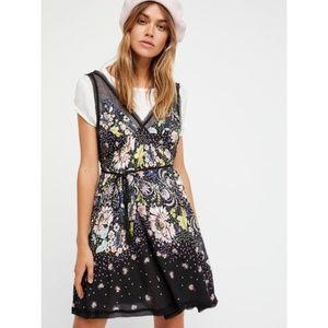 Free People Longwood Printed Slip Dress.New!